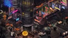 Bright lights in Shadowrun Hong Kong