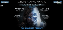 The GotY Edition is now available—play it now to experience Mordor like never before!