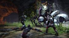 Facing a giant spider with your allies will make you more confident