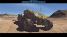 Deep into the deserts of Kharak
