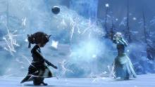 A snowball fight unlike any other.
