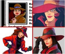 Carmen has always been quite the fashion-forward woman.