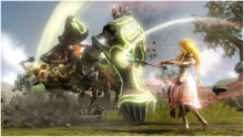 Zelda has no time for messing around with puny mortals.