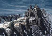 The beautiful concept art of Skyrim