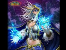 One of the iconic WoW characters - Jaina Proudmoore