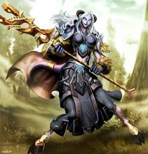 The Dranei is just one of many races available in WoW