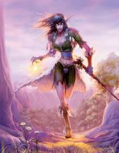 Play as a druid in WoW - capable of changing forms and taking on many roles.