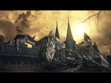 Knowing Dark Souls, this dragon will probably wake up and kill you.