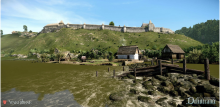 Conquer a beautiful medieval landscape