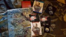 The welcoming pack received by players that pre-ordered The Witcher 3: Wild Hunt