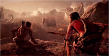 Be quiet, we're on the hunt for mammoths and sabre-tooth tigres in Far Cry Primal.
