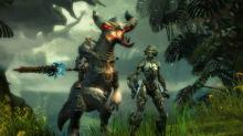 Mount inconceivable beasts and ride them to massive foes. This is TERA!