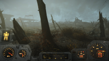 The Glowing Sea is a barren wasteland ruined by radiation and impossible to explore without a protective suit.
