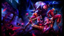 SKT skins from when even ADCs could be tanks.