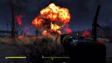 Explosions in Fallout 4 are as beautiful as they are destructive.