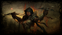 The Demon Hunter relies mostly on ranged attacks and traps to quickly dispatch demonic threats. They have been known to tumble about the battlefield, sniping enemies from afar while deftly avoiding their attacks.
