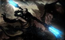 A skilled melee fighter, the monk physically attacks his targets while channeling ancient powers to both enhance his offensive abilities and cause status effects.
