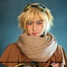 Headshot of Flame's cosplay