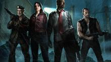 Play as one of 4 zombie apocalypse survivors in first person shooter Left 4 Dead.