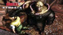 Battle zombie hordes and terrifying monsters in fan favorite Resident Evil.