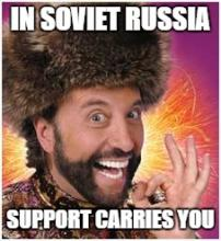 Oh Soviet Russia...