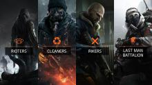 Showing off the different types of enemies in The Division