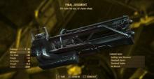 This minigun has the potential to become one of the game's strongest weapons.