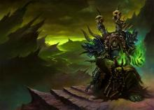 Sent from Draenor, Gul'dan is trying to aide the legion in a new invasion