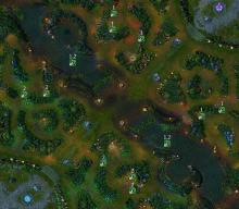 The League of Legends map. Learn it, and learn it well.