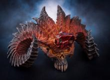Players who ordered the Collector's Edition of Diablo 3 were treated to a treasure trove of collectible goodies, perhaps none sweeter than a decorative Diablo head complete with detachable Soulstone USB thumb drive.