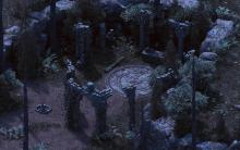 Pillars of Eternity features old school gameplay and graphic style, the environments are well detailed and self absorbing.
