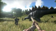 The game features a huge variety of pre-historic dinosaurs waiting to be tamed by the player