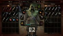 Victor Vran features a huge inventory and deep customization, also he can use several different types of weapons