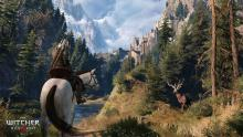 Witcher 3 features mind blowing graphics and highly detailed environments, enough to absorb any player into it.
