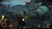 The power armor from Fallout 4 makes you invincible against enemies but require quite a lot of power.