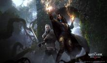 Geralt and Yennefer working together