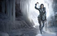 Lara draws out yet another bolt.