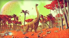A new species is discovered on a far off planet