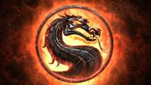 The infamous logo from The Mortal Kombat series.