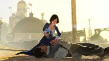 There is so much emotion in this game. Elizabeth feels so much remorse for the violence the must inflict.