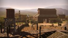 Does it get more Western than this scene?