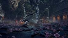 One of the bosses in Dark Souls 3, the Curse Rotted Greatwood is one of the biggest bosses in the series.