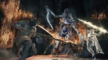 Depending on your convenant allegiances and prior conquests, you may be able to summon spirits to help you defeat bosses (although many of the fights become trivialized by doing so).