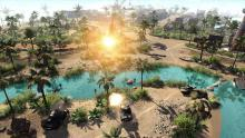 Assault Squad 2 features detailed, exotic environments perfect for combat