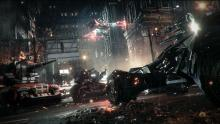 The numerous vehicles in Batman: Arkham Knight