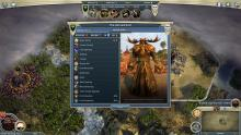 Stats for the Horned God in Ages of Wonders 3