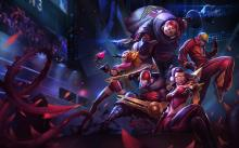 You can see Faker's Zed got a skin, as well as Zyra, Vayne, Jax, and Lee Sin