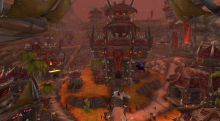 Was once a popular spot for Alliance raiding
