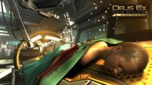 Technological augmentations play a large role in Deus Ex: Human Revolution