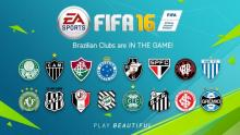 Fifa 16 saw Brazilian clubs introduced but we need more and more new clubs added, so we can play with all the best players.